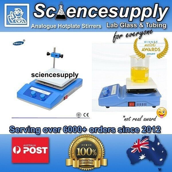 hotplate magnetic stirrer 500ml to  20L (no probe) analogue