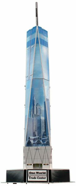 23 Piece 3D Puzzle Model Kit - One World Trade Center