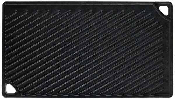 Lodge Double Play Cast Iron Pre Seasoned Reversible Grill Griddle