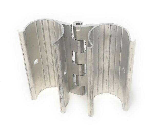 Aluminum Snap On Hinge for Grennhouse Doors Vents or Gates fits 1quot; EMT $15.00