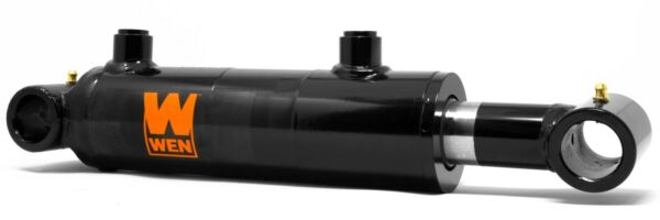 WEN WT2006 Cross Tube Hydraulic Cylinder with 2-inch Bore and 6-inch Stroke