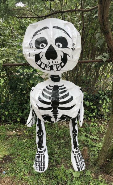 "48"" Gemmy Floating Skeleton  Halloween Decoration Hanging Prop Large"