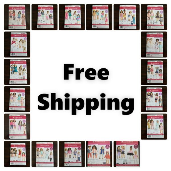 New! Simplicity *American Girl Doll 18 Inches Sewing Pattern