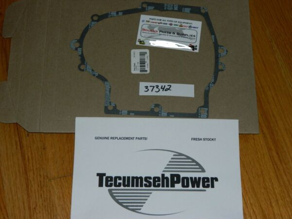 GENUINE Tecumseh side cover gasket  37342 HM100HMSK80 snow king  summer engine