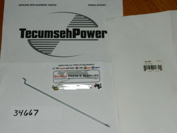 Tecumseh engine governor link rod 34667  HMSK80  Snow king Fits snowblowers