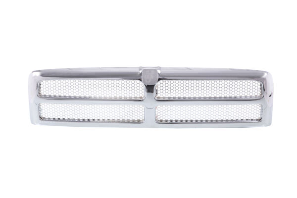 Chrome Grille w/ Insert For 94-01 Dodge Ram Pickup 1500 2500 3500 CH1200178 New