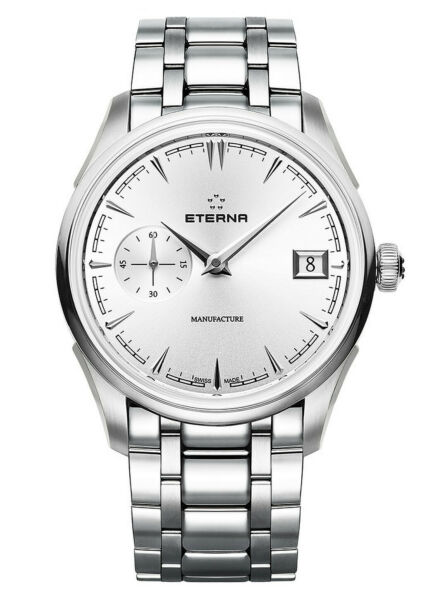 NIB Eterna 1948 Legacy Small Second Automatic Spherodrive Watch AD MSRP:$7900