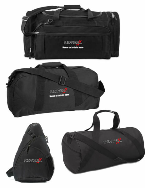 Embroidered Challenger Duffel Travel Bags Package $114.95