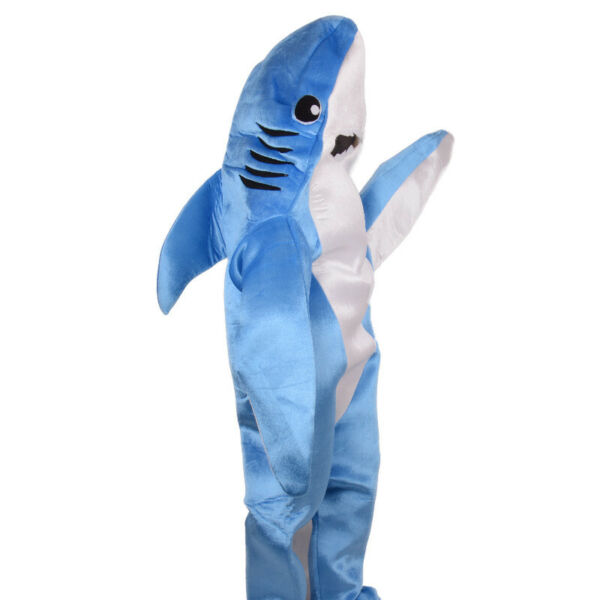 Whale Shark Mascot Costume Halloween Material Cosplay Adult Size Jumpsuit Outfit