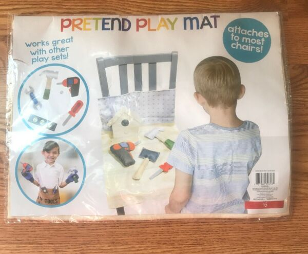 New Sealed Pretend Play Mat Tool Set Attach To Chairs Felt Accessories $6.75