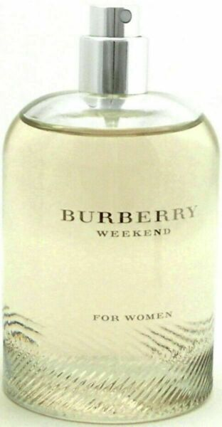 Weekend Perfume by Burberry for Women Eau De Parfum Tester 3.4 oz EDP TESTER $29.99