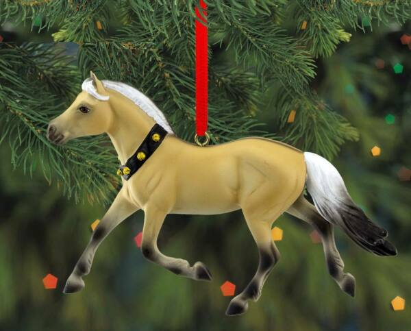 Breyer NEW* Fjord Ornament * 2019 Christmas Holiday Beautiful Breeds Model Horse