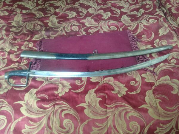 Impossibly Rare German Prussian Model 1742 Light Cavalry Saber Hussar