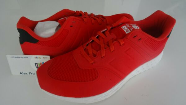 New Men's Size 10.5 New Balance 574 Fresh Foam Red White MFL574RB
