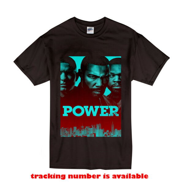 Power Tommy and Ghost T Shirt Size S XL Black color $20.99