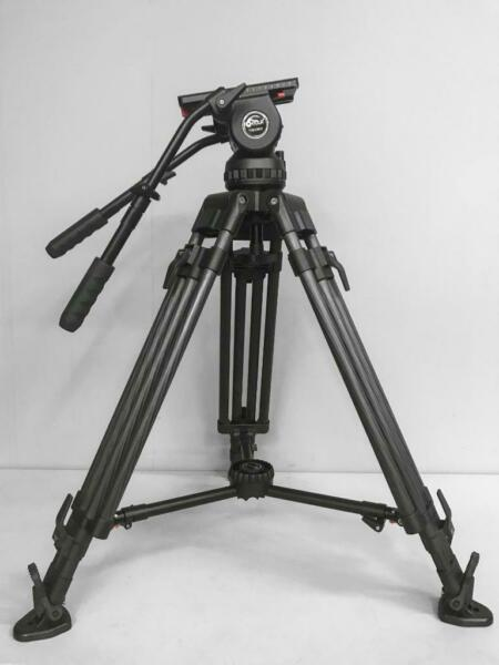 Contour CT44K Professional Fluid Head Carbon Fiber Tripod 44lb cap see notes