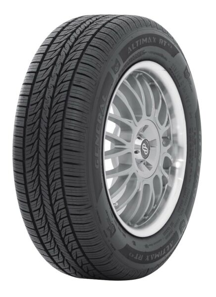 2 New General AltiMAX RT43 97T 75K-Mile Tires 2057016205701620570R16