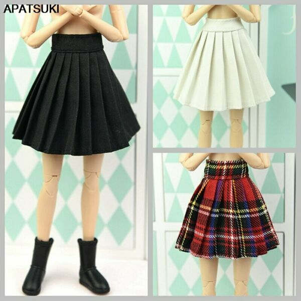 16 Dolls Accessories Base Doll Clothes For 11.5inch Doll Outfits Pleated Skirt