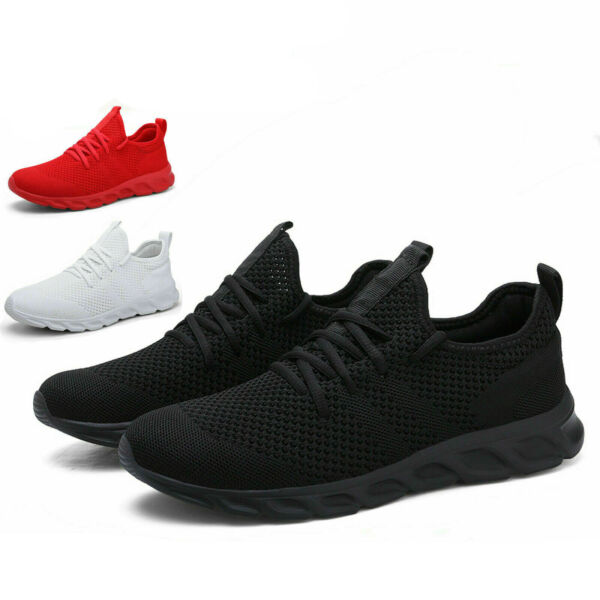 Men's Running Tennis Shoes Fashion Breathable Lightweight Sports Sneakers Gym 12