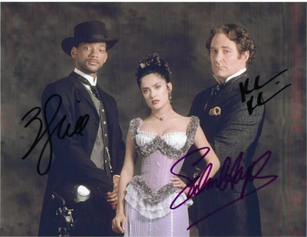 WILL SMITH  SALMA HAYEK  KEVIN KLINE Autographed 8 x 10 Signed Photo HOLO COA