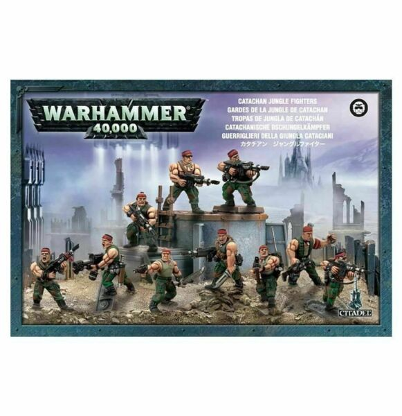 Warhammer 40k Imperial Guard  Astra Militarum Catachan Jungle Fighters Squad