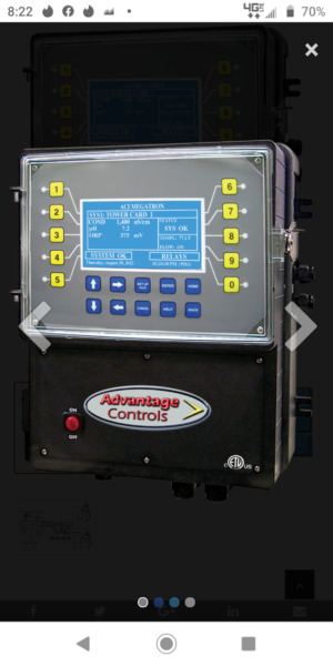 Megatron Boiler Controller Includes SS probe and Steel cross T. part MGB2 $2600.00