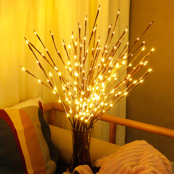 Tree Branch Lamp LED Light Home Decoration Room Decorative Lights 20 Bulbs