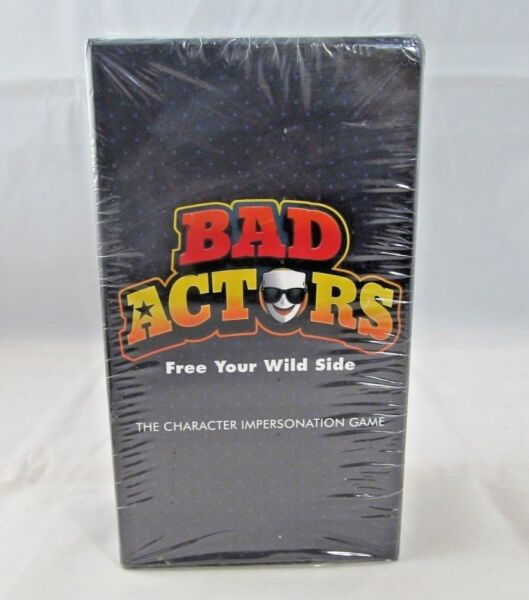 Bad Actors - Character Impersonation Party Game - New