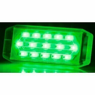 Macris MIU15V6-GRN Underwater LED Light - Green 10-30V