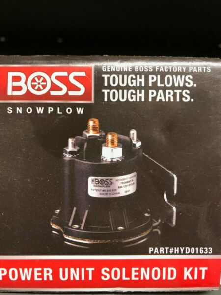 Boss snow plow power unit solenoid kit #hyd01633