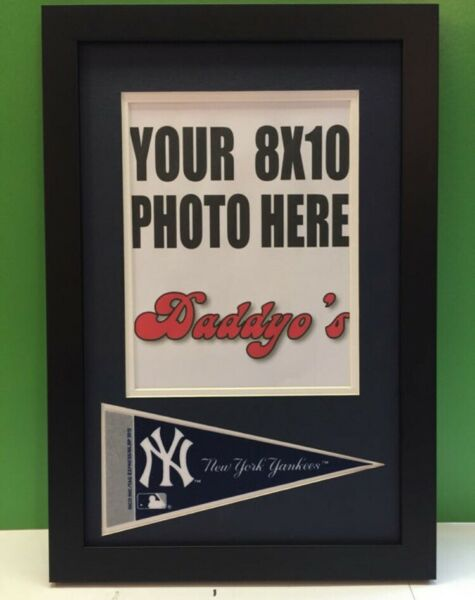 Nee York Yankees Picture Frame Displays 8x10 Vertical Photo Mantle Jackson Ruth