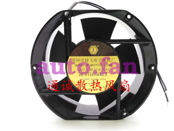 for JF-17251HBL2 220240V 0.22A small power frequency axial flow cooling fan