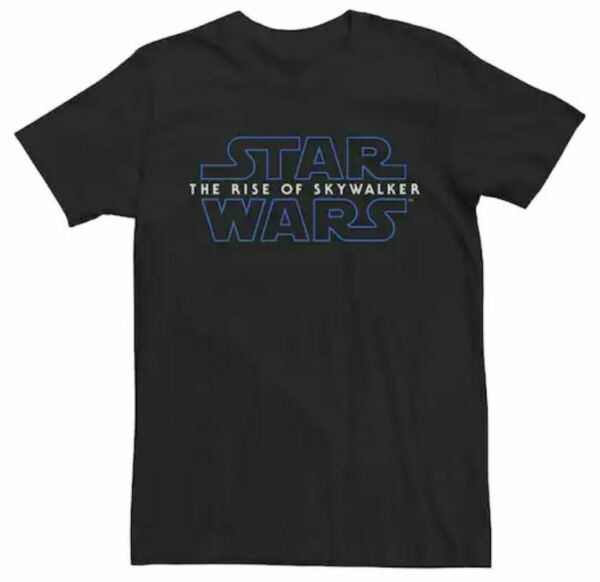New Star Wars The Rise of Skywalker Movie  Black T-Shirt-Choose Size