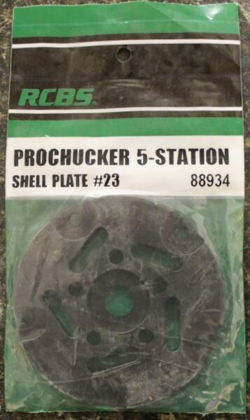 RCBS Pro Chucker 5 Station Shell Holder Plate #23 88934 Auto Index Press NEW!