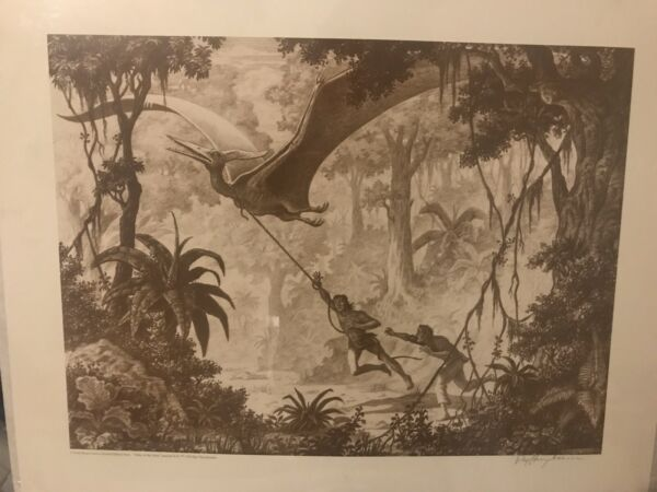"Ray Harryhausen Signed Art Print- Dark Horse  Limited ""Valley Of The Mist"