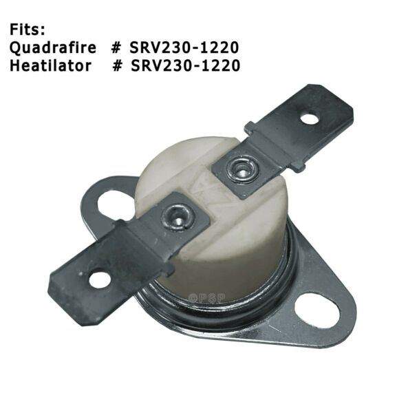 QUADRAFIRE Wood Stove Blower Fan Switch PP3321M SRV230 1220 4100ACT Bodega $16.60