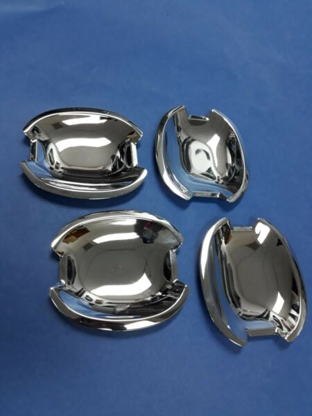 Chrome Stainless Steel Door Handle Cover Shells For 1995-2002 Mercedes Benz W210