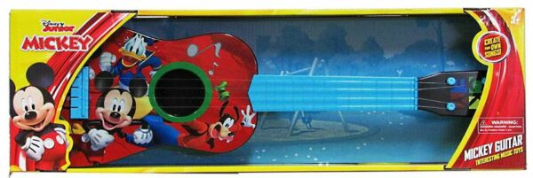 Disney Junior Mickey Mouse Clubhouse Play Guitar Musical Instrument - New