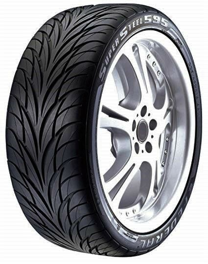 2 New 255 40ZR19 Federal SS 595 All Season UHP Tires 40 19 R19 2554019 40R