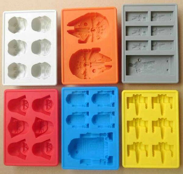 DIY Silicone Star Wars Ice Maker Cube Tray Mold Cocktail Whiskey Chocolate Mould $20.69