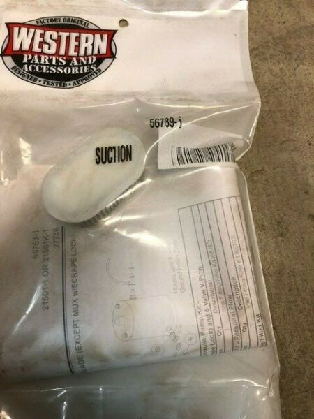 Western snow plows suction filter 56789-5