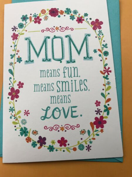 Hallmark Happy Birthday To Mom Greeting Card 5 Card Purchase Will Ship For Free
