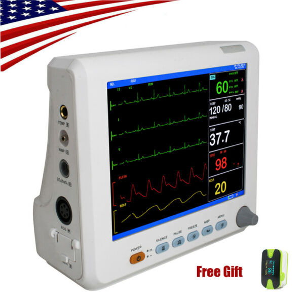 Portable Patient Monitor 6-parameter Vital Sign For Adult Pediatric Neonatal US