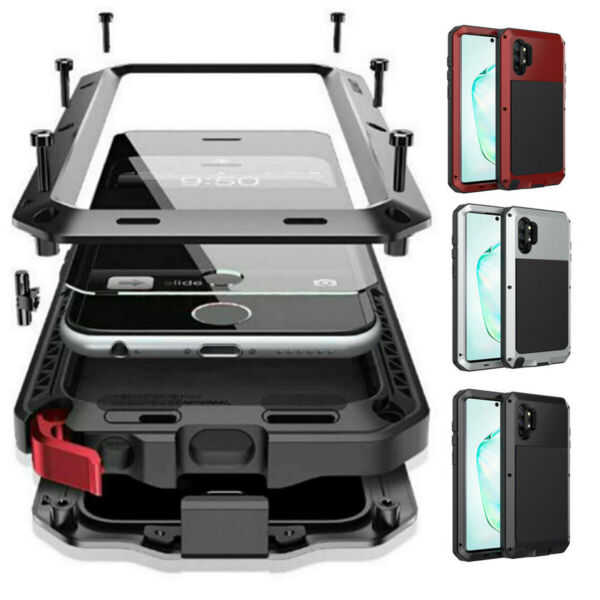 Samsung Galaxy Note 20 S20 S10 9 Metal Shockproof Aluminum HEAVY DUTY Case Cover $18.98