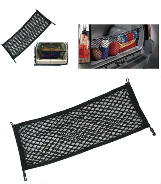 For Toyota Tundra 2007- 2019 Truck Bed Envelope Style Trunk Mesh Cargo Net Black