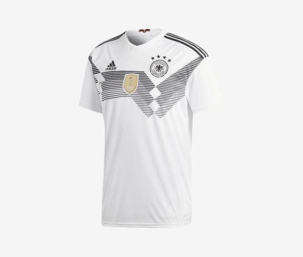 Guaranteed Authentic New Adidas ADULTS 2018 Germany Home Jersey Small