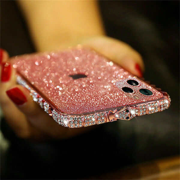 Luxury Glitter Bling Diamond Sparkle Case Cover for iPhone 11 Pro XS Max 6 7 8 $11.98
