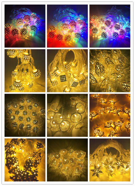 3M 20 LED Fairy LED String Lights Christmas tree Wedding Party Decorative lamp