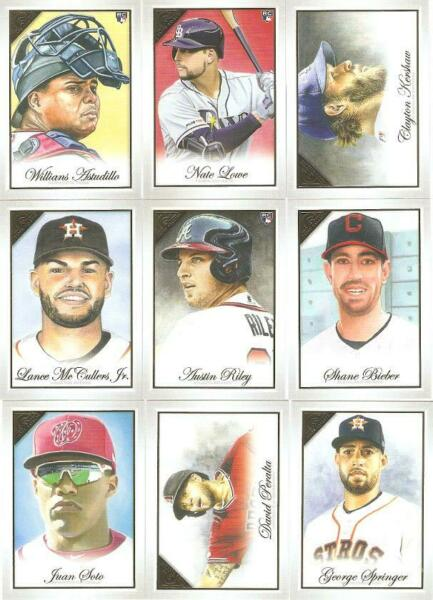 2019 TOPPS GALLERY RETAIL SINGLES WRC'S ***YOU PICK*** #'S 1 - 150