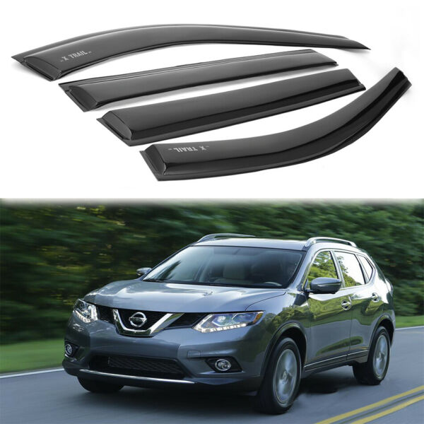 For Nissan X-TrailRogue 2014-2018 Window Visor Sun Rain Guard Vent Shade
